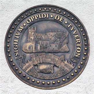 The seal of the town of Tiverton